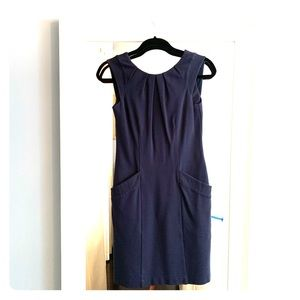 Mini BCBG Navy Dress!